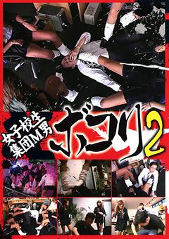 「女子校生集団M男ボコり 2」のパッケージ画像