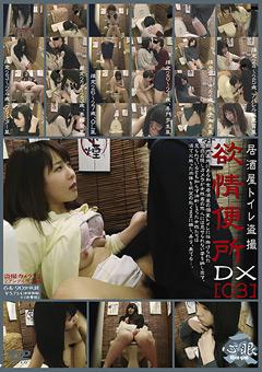 「居酒屋トイレ盗撮 欲情便所DX[03]」のパッケージ画像