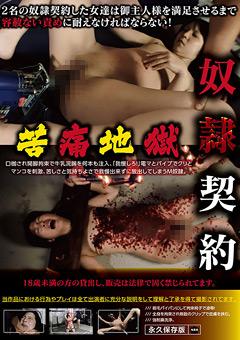 【凌辱動画】奴隷契約した女性への拷問みたいな苦痛地獄SM調教プレイ
