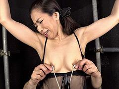 【エロ動画】伸びる長乳首熟女 玲香 52歳の人妻・熟女エロ画像