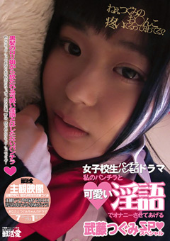 「私のパンチラと可愛い淫語でオナニーさせてあげる 武藤つぐみSP」のパッケージ画像