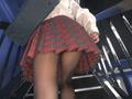 階段女子校生 スカートの中ってマジでパラダイス編