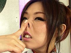 【エロ動画】熟女鼻飼育 零のエロ画像