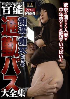 痴漢・痴女たちの通勤バス大全集
