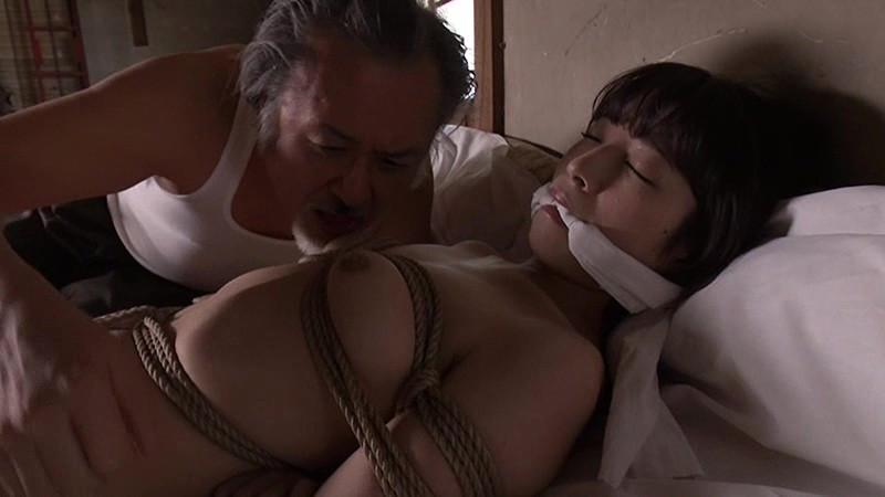 原作ヘンリー塚本 縛女 柔肌に食い込む縄と染み込む愛液