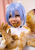 新世紀ウンコゲリヲン 食糞レイ 排泄編 写真集01