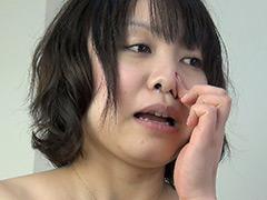 フェチ:みうの鼻水を観察!