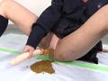 オムツ娘の脱糞極太ロングディルドアナルオナニー サンプル画像0005