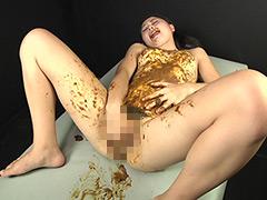 脱糞からの糞塗り・食糞オナニー
