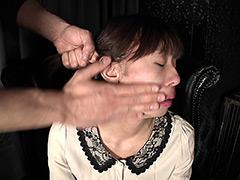 【エロ動画】ビンタフェチ映像!のエロ画像