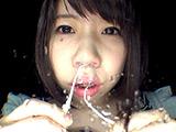 鼻水フェチ!鼻水まみれの近距離くしゃみ 【DUGA】