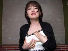 【エロ動画】ゆきのさんのカメラに向かって淫語フェチ映像のエロ画像