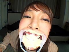 フェチ:歯フェチ&マヨネーズ咀嚼