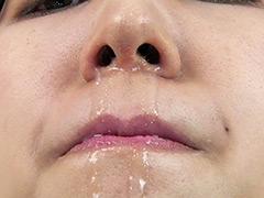 フェチ:鼻・鼻水フェチ!由香里さんの鼻を観察