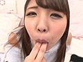 水谷杏ちゃんの舌・口内自撮り&セルフ指フェラ 水谷杏