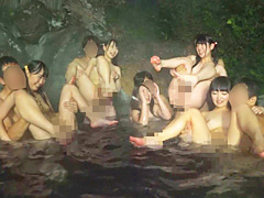【エロ動画】ほっこりモッコリ温泉美少女20人8時間のエロ画像