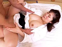【エロ動画】押忍!巨乳空手家・理沙 男優瞬殺!のエロ画像
