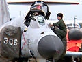 今年は晴天の中25万人もの観客が訪れ、新鋭戦闘機F