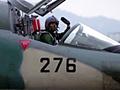 平成17年度で運用を終える国産支援戦闘機F-1によ