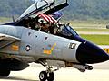これが見納めのF-14トムキャットの貴重なフライト