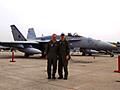 今年の目玉は、AV-8B+ハリアー2のデモフライト