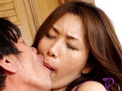 【エロ動画】熟女達の世界一濃厚でいやらしい接吻とSEX3のエロ画像