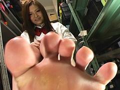 美少女の足裏6