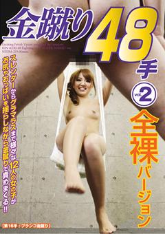 【大槻ひびき動画】金蹴り48手-vol.2-全裸バージョン-M男