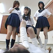 フリーダムスクールガール 女子校生 アシゼメ(脚責め)【フリーダム動画】