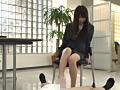 リクルートスーツを着た女子大生の蒸れたストッキング2 16
