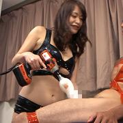 最強アマゾネスの強制射精拷問【フリーダム動画】