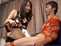 最強アマゾネスの強制射精拷問