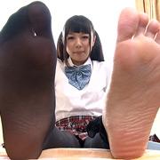 新足裏 生足とストッキングの足裏 Vol.3【フリーダム動画】