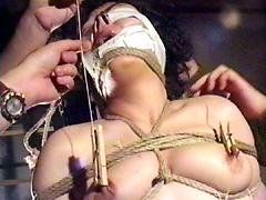 【エロ動画】乳虐14のSM凌辱エロ画像