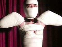 【エロ動画】包帯緊縛 嗜虐の密閉女体のエロ画像