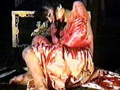 【エロ動画】女腹切り作品集1 女腹切り・散華のSM凌辱エロ画像