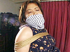 【エロ動画】突撃!隣の人妻緊縛のエロ画像