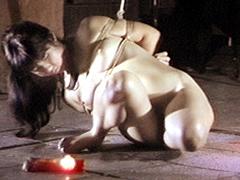 股縄猿轡・少女蝋涙責め