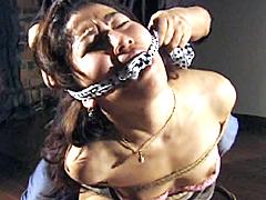 縄と猿轡1