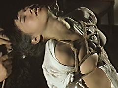 【エロ動画】悲艶痛虐女囚縛り・この凄い水責めのSM凌辱エロ画像