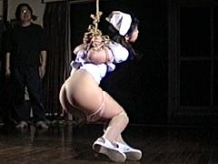 【エロ動画】緊縛イズム07 死にたい位の痺れ縄・さとみ高手小手のSM凌辱エロ画像