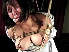 【エロ動画】緊縛浪漫07 OL哀願縄・しつこすぎる乳首責めのエロ画像
