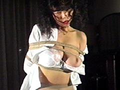 【エロ動画】緊縛イズム07 髪吊り拷問・宏美が被虐の極致のエロ画像