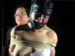 緊縛浪漫03 敏子縄狂乱・のたうつ羞恥全裸妻