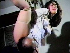 【エロ動画】緊縛イズム02 綾乃秘丘責め・股縄・尻縄・割れ目縄のエロ画像