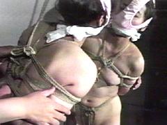 【エロ動画】尻肉官能縛り・乳房偏執責め 藤さとみのエロ画像