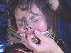 【エロ動画】豊満肉縛り・顔面乳房責め 藤野裕花のエロ画像