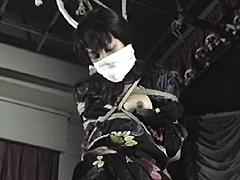 【エロ動画】泣き縄処女太腿愛虐縛り 野崎紅緒のエロ画像