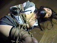 【エロ動画】美貌秘書 なみだ縄 藤さとみのSM凌辱エロ画像