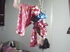 【エロ動画】悠理美虐縄 凄艶連続吊りのSM凌辱エロ画像